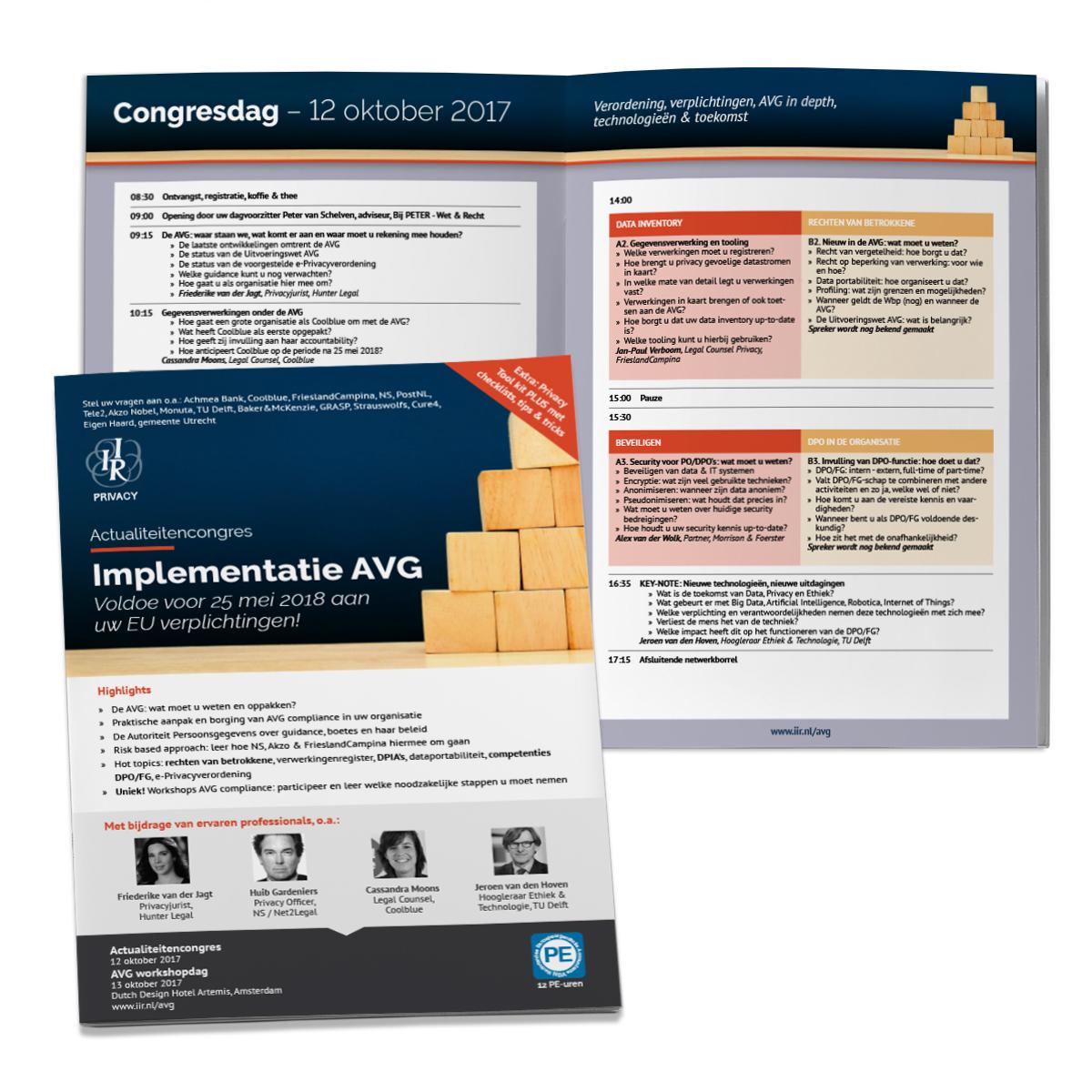 AVG Brochure gedrukt