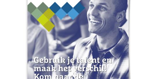 Vrijwilligersacademie Haarlem en omgeving poster